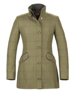 Musto Luxury Tweed Country Jacket Fern