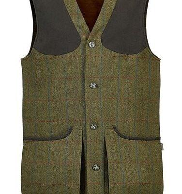 Musto Machine Washable Tweed Waistcoast