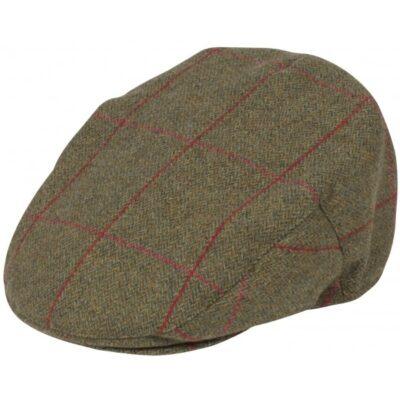 Alan Paine Compton Mens Tweed Flat Cap