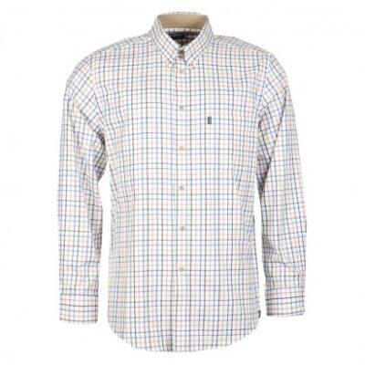 Barbour Sporting Tattersall Shirt Blue